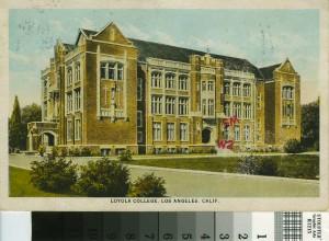 Loyola Marimount University Westchester CA