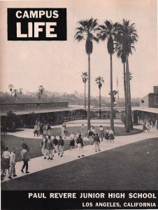 Paul_Revere_Middle_School_1955, Brentwood Los Angeles