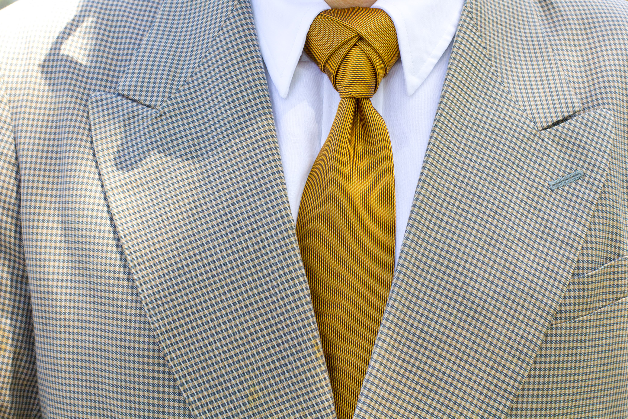 How to make an eldgredge tie knot douglas lagos now like many youd probably just put on a nicely pressed shirt a jacket and patching pants and maybe spice it up with a regular tie ccuart Choice Image