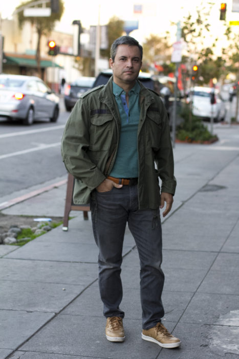 how to look great in a military jacket
