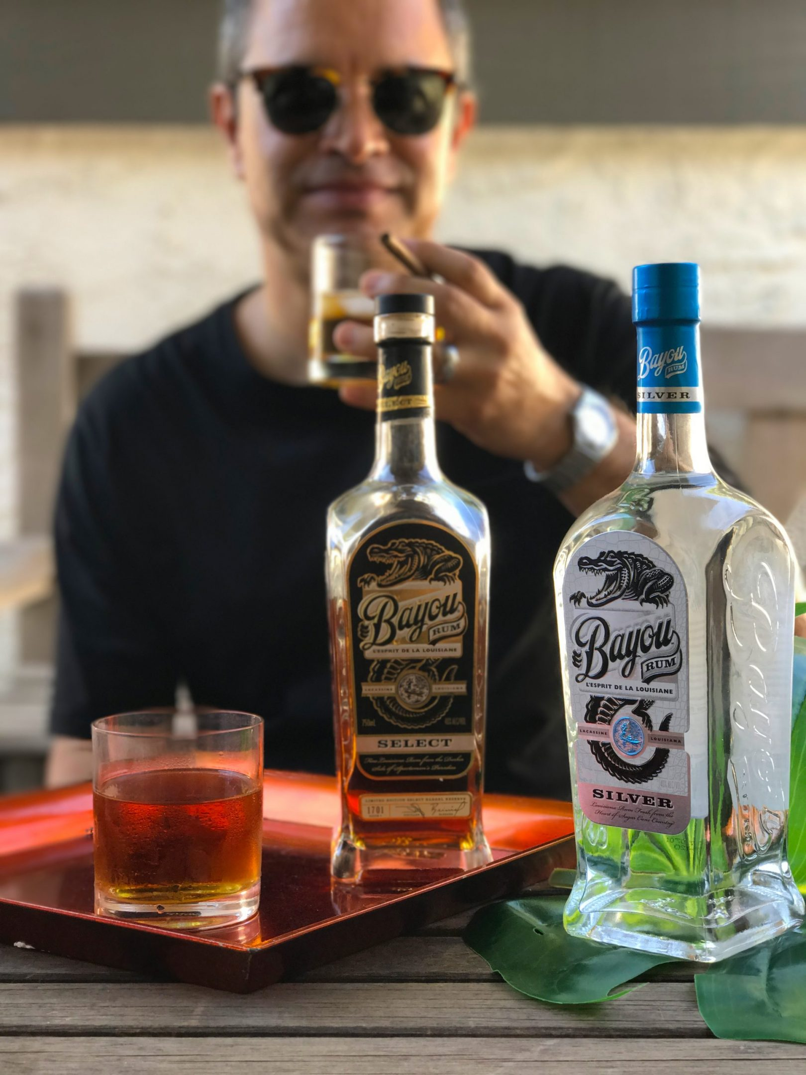 Bayou Rum men's food & drink blogger