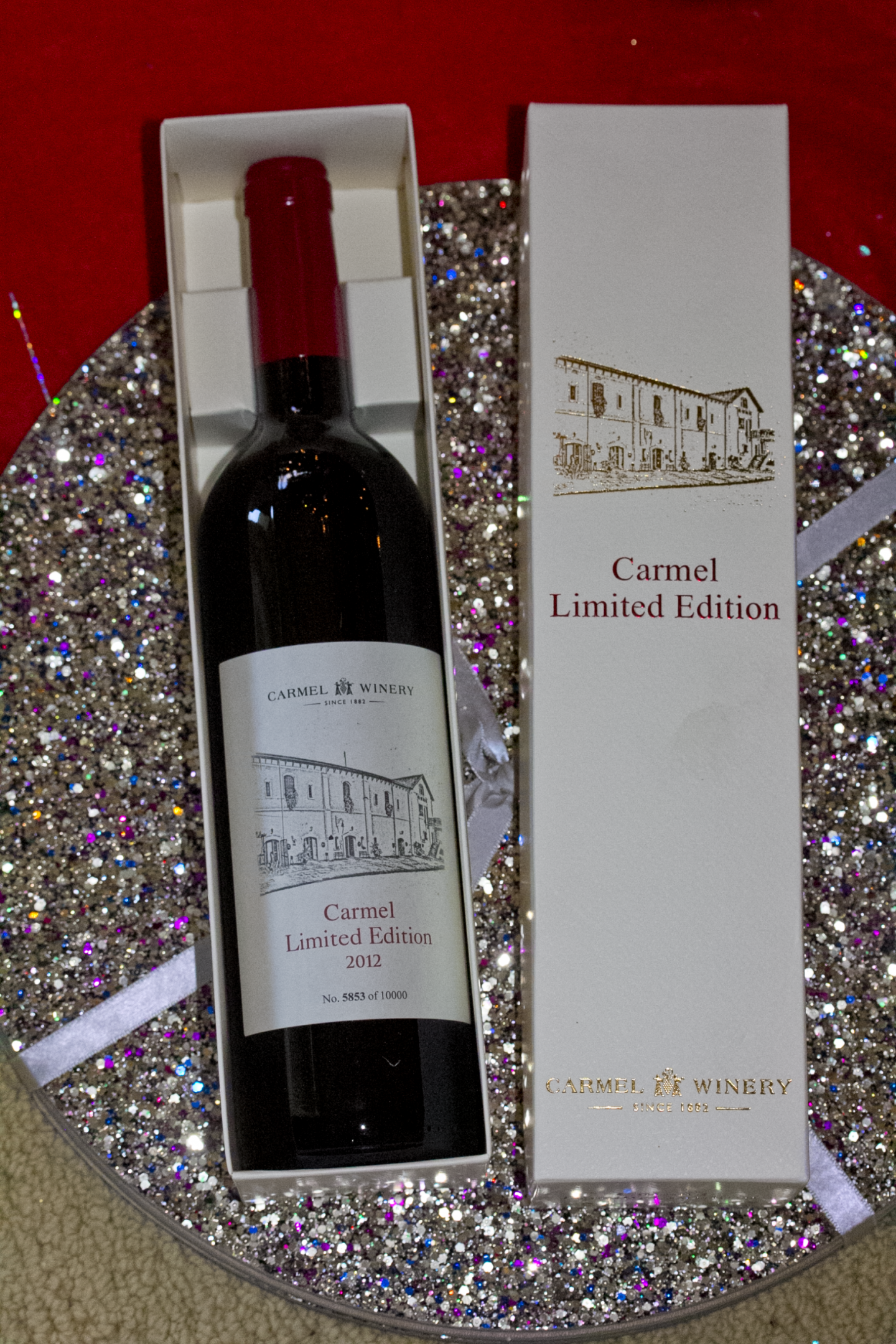 Carmel Winery Limite Edition 2012 wine holiday gift guide