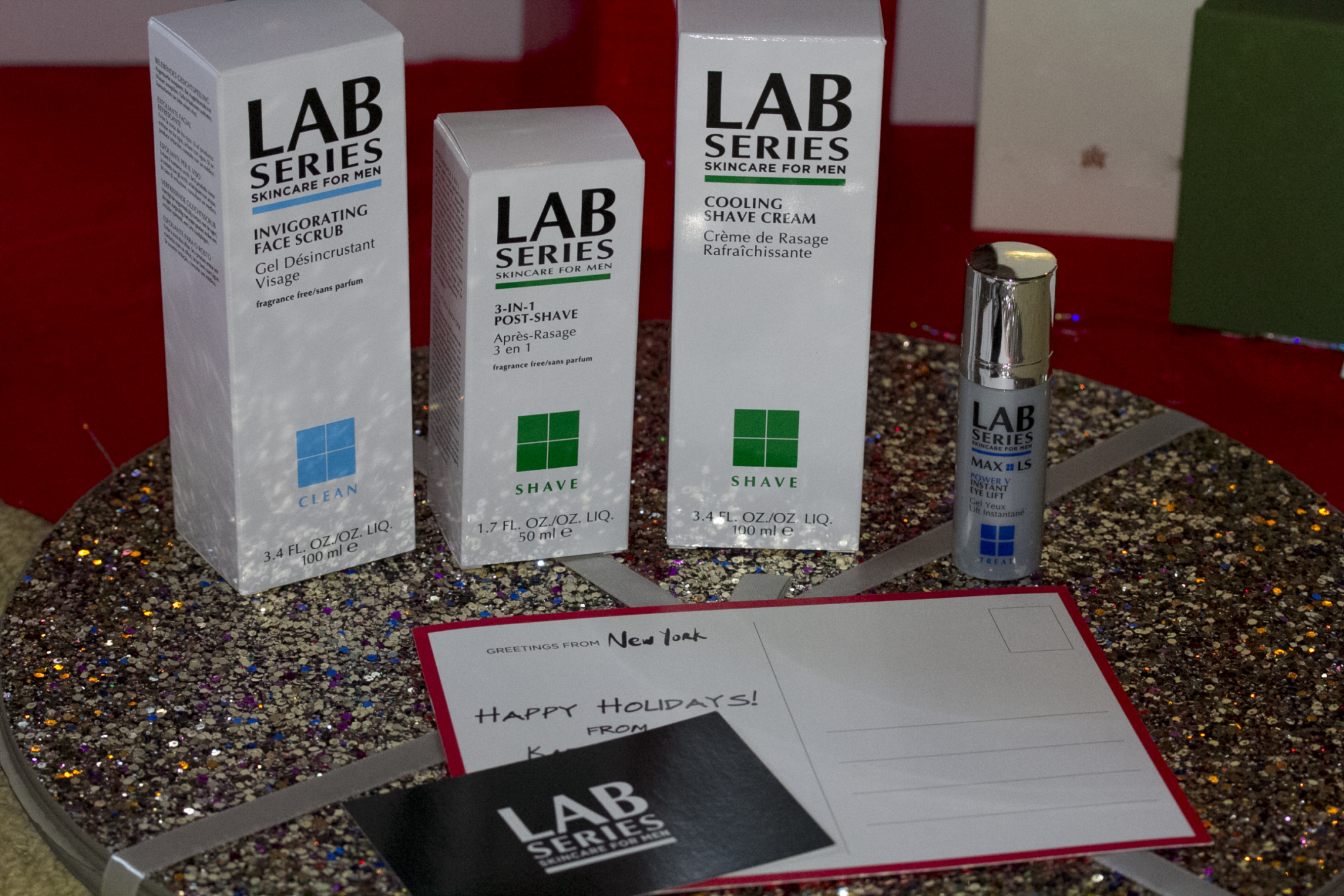 LAB Series skincare for men holiday gift guide favorites