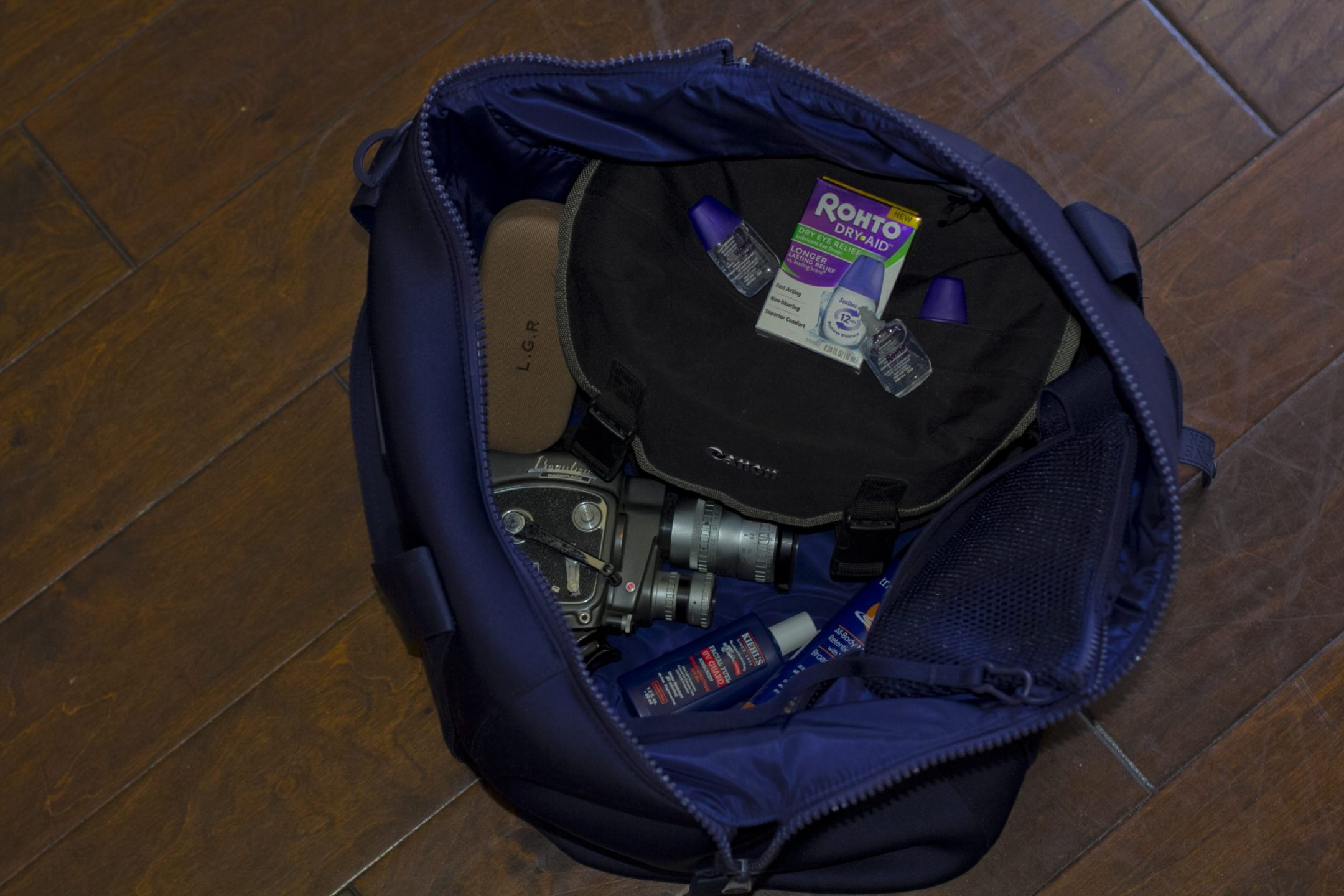 My Road Trip Essentials Bag