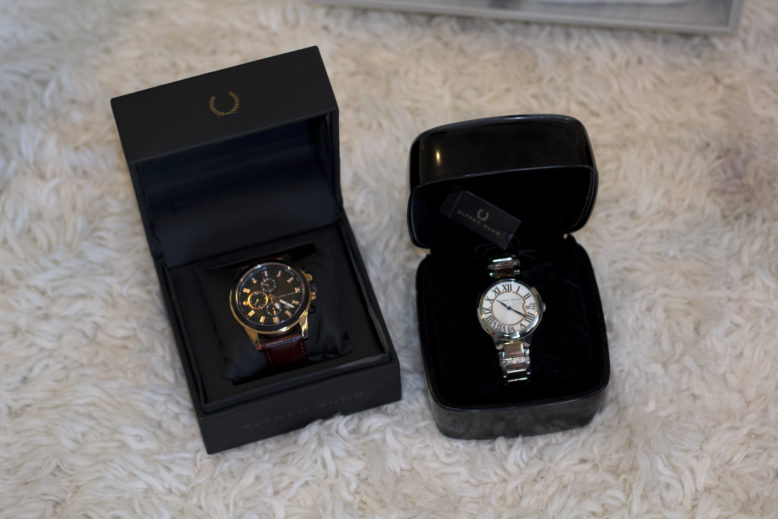 His & Hers Alfred Sung Watches