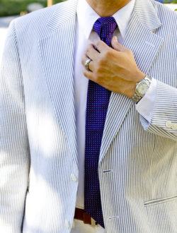 blue-striped-blazer-tie-rolex