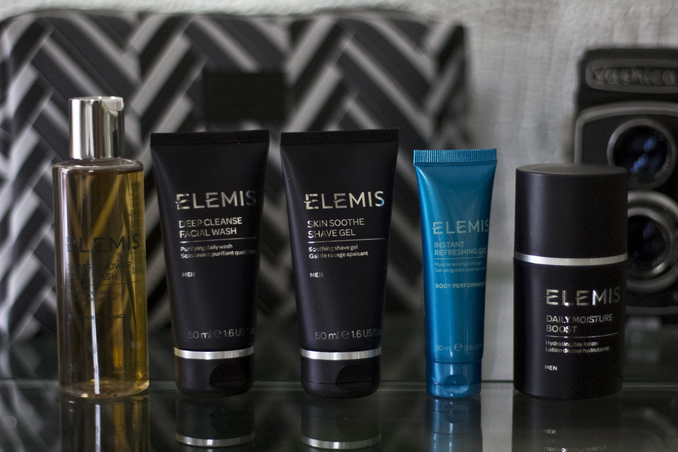 Father's Day gift guide Elemis luxury travel essentials for him