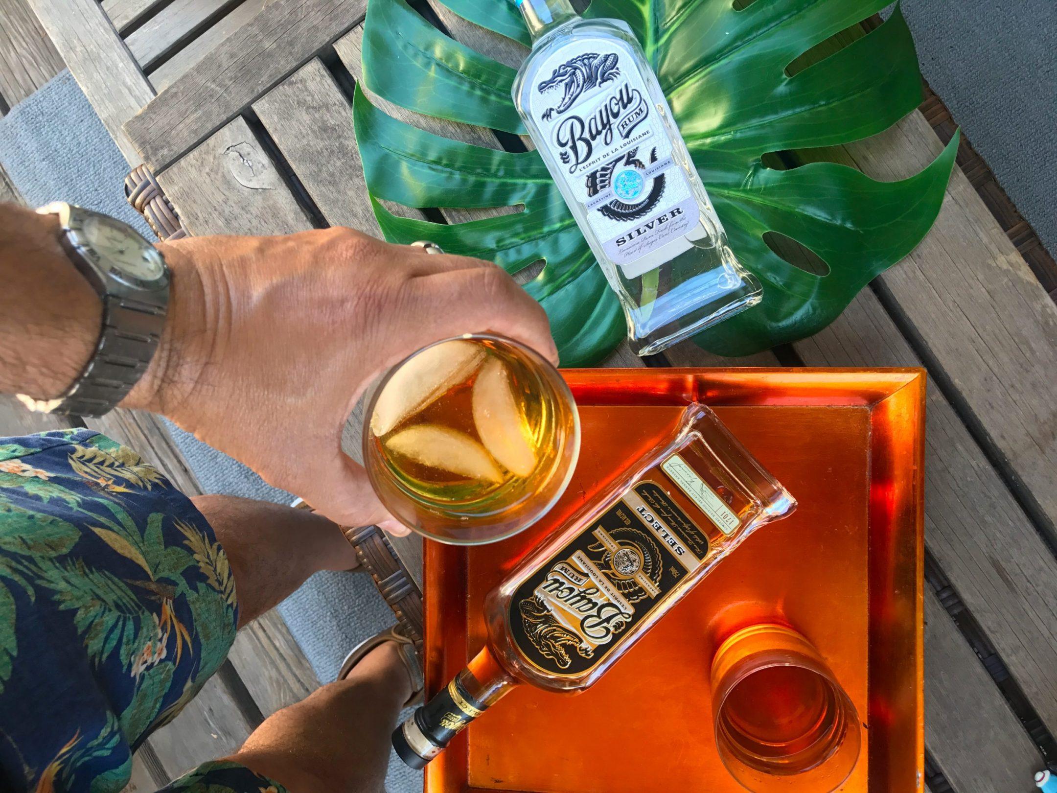 4th of July Lookbook Bayou Rum drinks