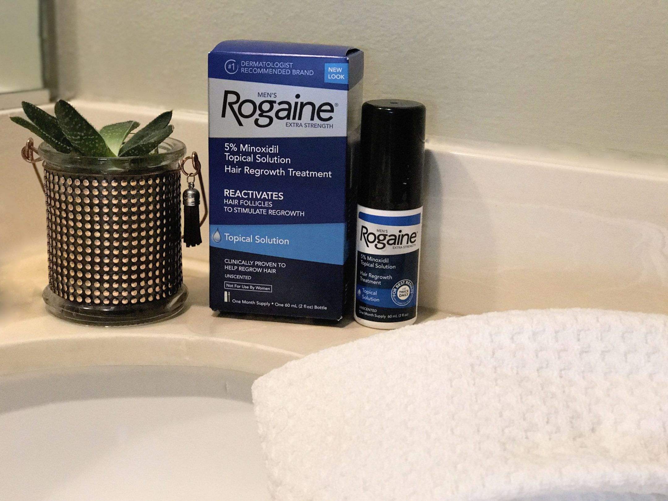 #headstart #rogaine how to stop hereditary hair loss hhl