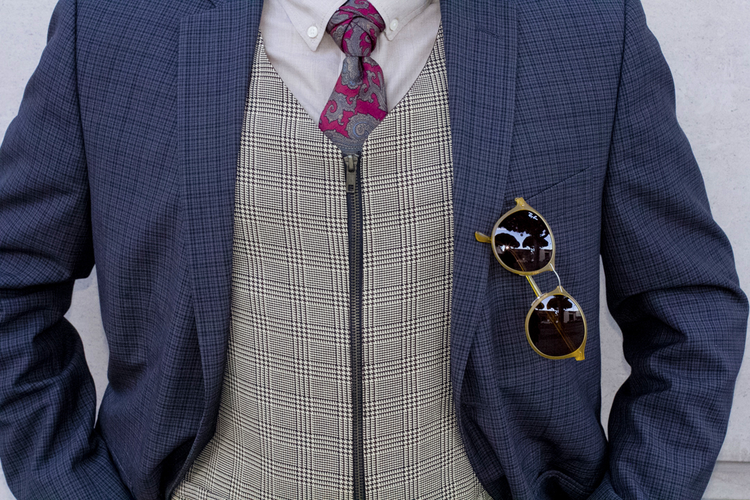 Patterns Jacket & Tie for Summer