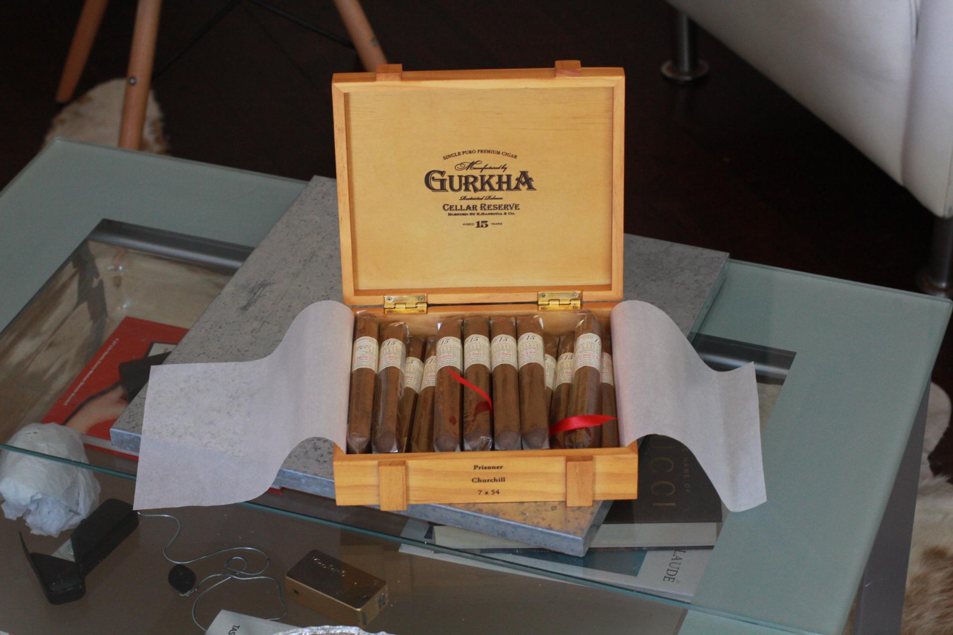 Gurkha Cigars 15 Years Cellar Reserve