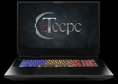zTecpc Clevo X-170SM-G front view