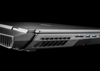 zTecpc Clevo X-170SM-G side view